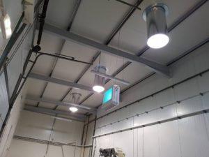 conduits de lumière diamétre 400 éclairage salle borgne Eclairnat