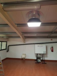 diffuseur carrè pour conduit de lumière