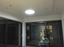 eclairage d'un salon