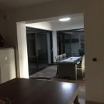 extension, véranda, le puits de lumière permet un éclairage zénithal