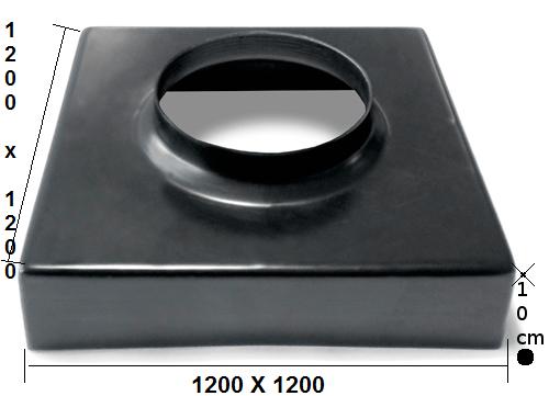 plaque 1200 X1200X10cm