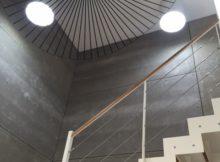 éclairage cage d'escalier