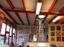 étude d'implantation d'un puits de lumière