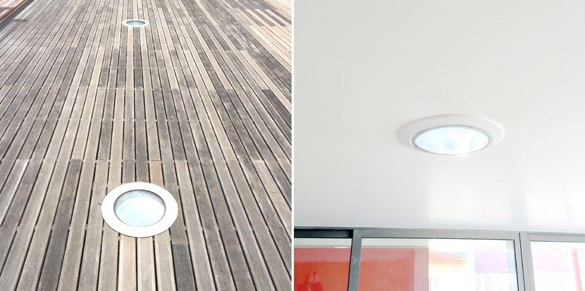 Conduit de lumière Extra plat Terrasse