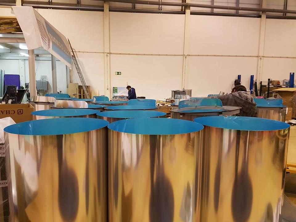 Tube de conduit de lumière en fabrication pour industrie