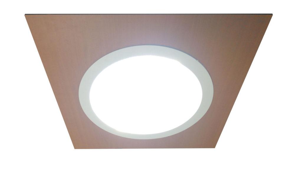 diffuseur pour conduit de lumière