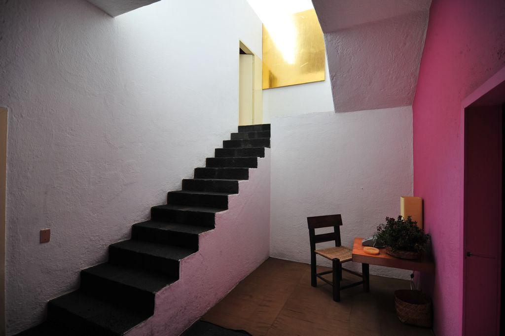 Casa Gilardi cage d'escalier